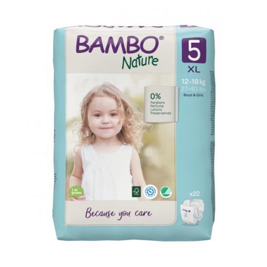 Bambo Nature 5, 12-18 kg, 22 ks