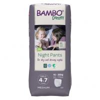 Bambo Dreamy Nights Pants pro dívky 15-35 kg 10 ks