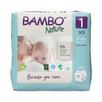 Bambo Nature 1, 2-4 kg, 22 ks