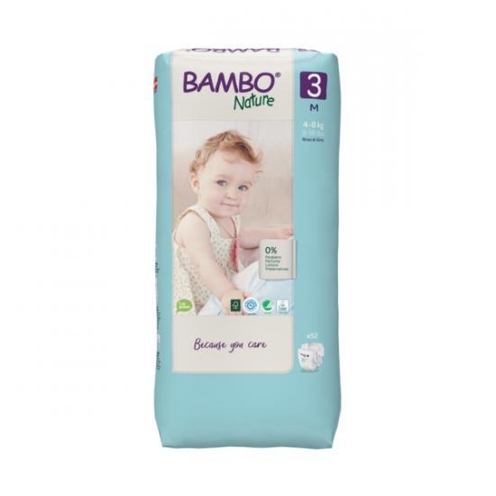 Bambo Nature 3, 4-8 kg, 28 ks