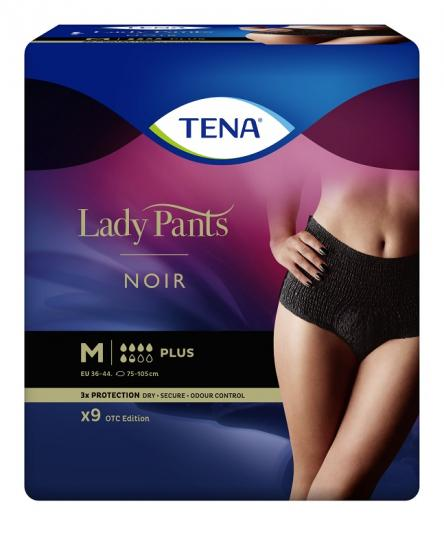 TENA Lady Pants Noir Medium 9 ks