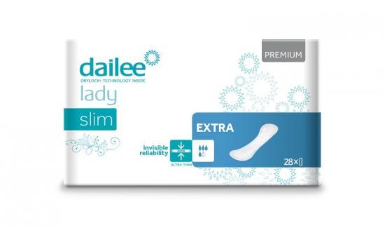 DAILEE Lady Premium Slim Extra dámské vložky 28 ks