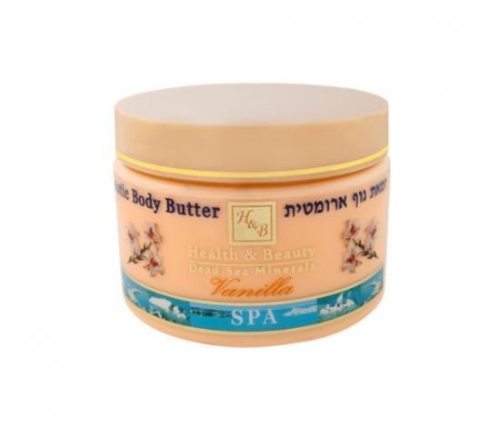 HB Aromatické tělové máslo vanilka 350 ml