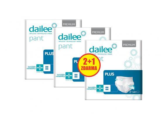 DAILEE 2+1 ZDARMA PANT Premium Plus M 28 + 14 ks