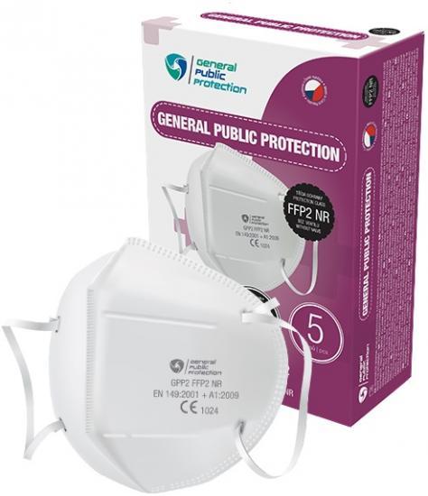 Respirátor FFP2, model GPP2 10 ks