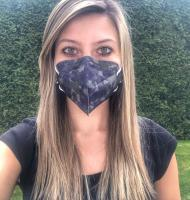 Respirátor FFP2 Balerina 4vrstvý - maskáče (vzor 122)