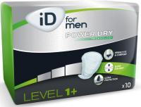 iD for Men Level 1+ vložky pro muže 10 ks