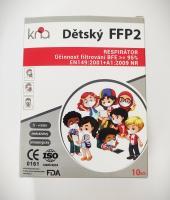 Dětský respirátor FFP2 KNA 10 ks