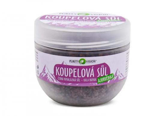 PURITY VISION Ajurvedská koupelová sůl 500 g