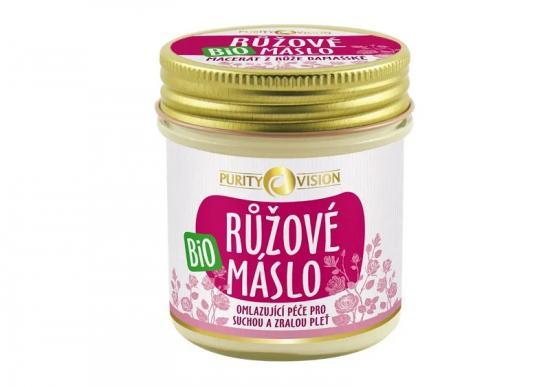 PURITY VISION Bio Růžové máslo 120 ml