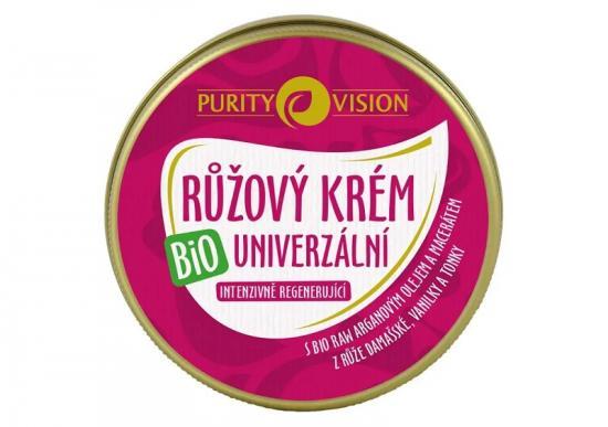 PURITY VISION Bio Růžový krém univerzální 70ml