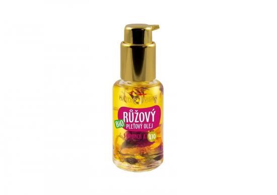 PURITY VISION Bio Růžový pleťový olej s opuncií a Q10 45ml