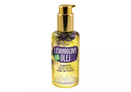 PURITY VISION Bio Levandulový olej 100 ml