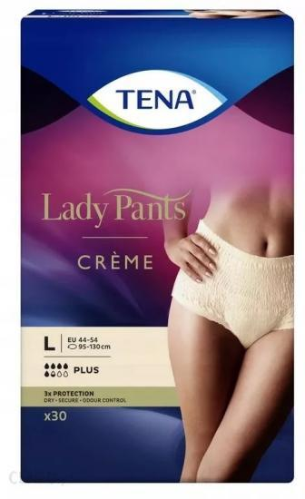 Tena Lady Pants Plus Creme L