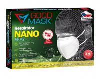 NANO respirátor GOOD MASK GM2-FFP2 3 ks