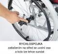 Invalidní vozík mechanický s rychlospojkou H011 - různé šířky sedáku
