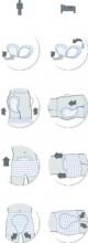 iD Fix Comfort X-Large fixační kalhotky 5 ks