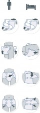 iD Slip X-Large Plus prodyšné plenkové kalhotky zalepovací 14 ks