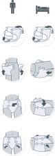 iD Slip Medium Extra plenkové kalhotky zalepovací 28 ks