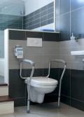 WC rám s nastavitelnou výškou Liddy