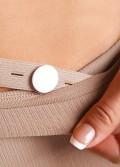 Punčochové kalhoty kompresivní Brillant II.K.T. těhotenské