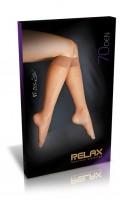 Lýtkové punčochy New Relax 70 DEN